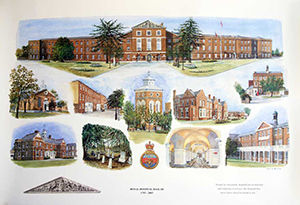 Royal  Hospital Haslar Print